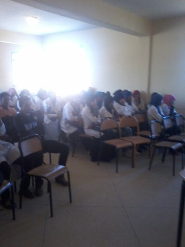 نادي حقوق الإنسان و المواطنة تانوية اولاد يحيى -1