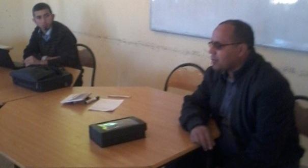 نادي حقوق الإنسان و المواطنة تانوية اولاد يحيى -2