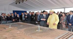 ورزازات: الملك سيدشن أكبر محطة لإنتاج الطاقة الشمسية في العالم