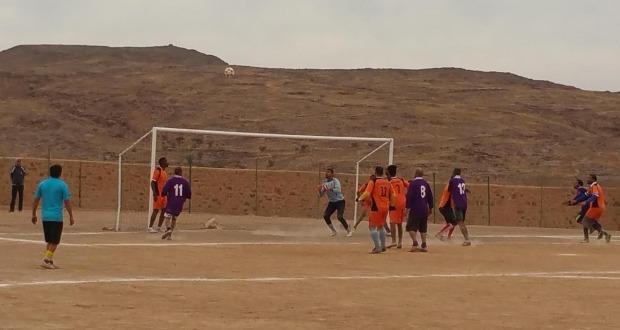 ترتيب بطولة تازارين في كرة القدم  ونتائج الجولة الثانية