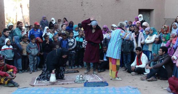 جمعية الفينيق بزاكورة تقرب مسرح الحلقة من ساكنة جماعة الروحا