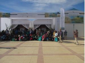 على هامش المنتدى الدولي للواحات و التنمية المحلية -1