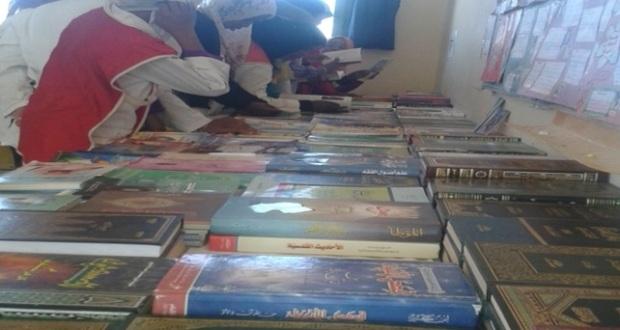 نادي القراءة والكتابة باعدادية الروحى ينظم النسخة الرابعة من معرض الكتاب