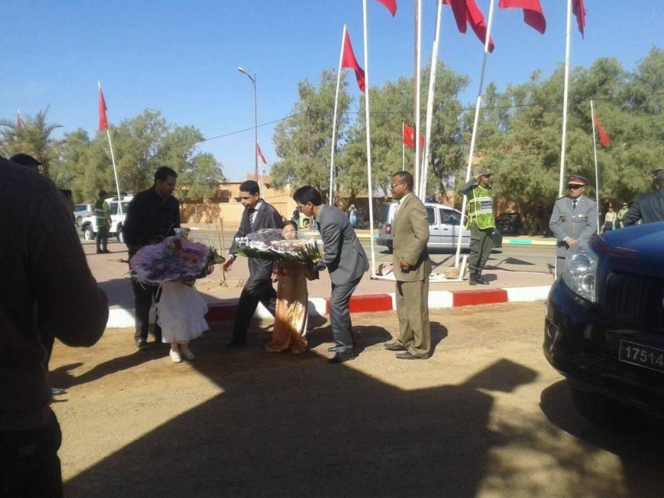 الاحتفال بالذكرى 58 للزيارة التاريخية لبطل التحرير جلالة المغفور له محمد لخامس إلى محاميد الغزلان -1