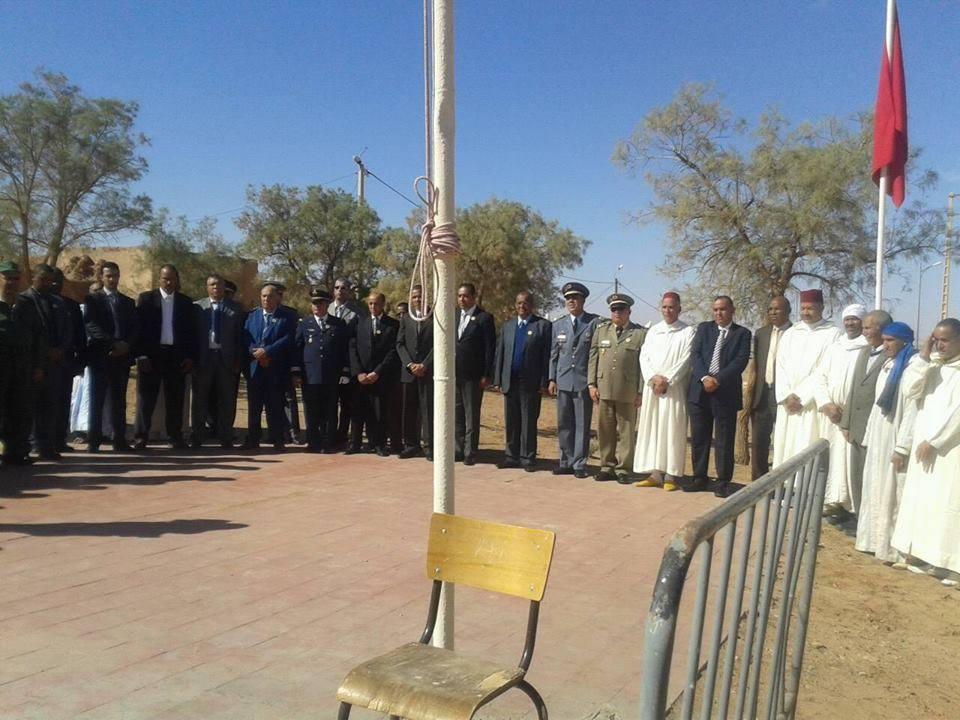 الاحتفال بالذكرى 58 للزيارة التاريخية لبطل التحرير جلالة المغفور له محمد لخامس إلى محاميد الغزلان-3