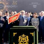 """الملك يترأس حفل الشروع في الاستغلال الرسمي للمحطة الأولى من """"نور- ورزازات"""""""