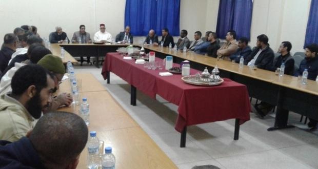 تعيين السيد ابراهيم أوجيل على رأس نيابة وزارة التربية الوطنية بزاكورة 1