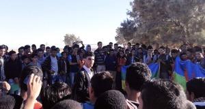 """تازارين: تلامذة ثانوية سيدي عمرو يتضامنون مع """"عمر خالق"""""""