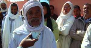امحاميد الغزلان: إحتجاج فلاحين بخصوص ساقية تيدري