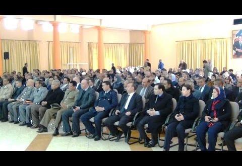 """حفل تنصيب مدير الأكاديمية الجهوية للتربية والتكوين لجهة درعة تافيلالت """"علي براد"""""""