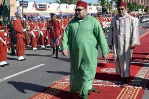 le roi Mohamed VI