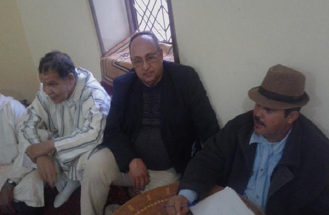 اجتماع قبائل اولاد ادريس بونو و الركابي  -2