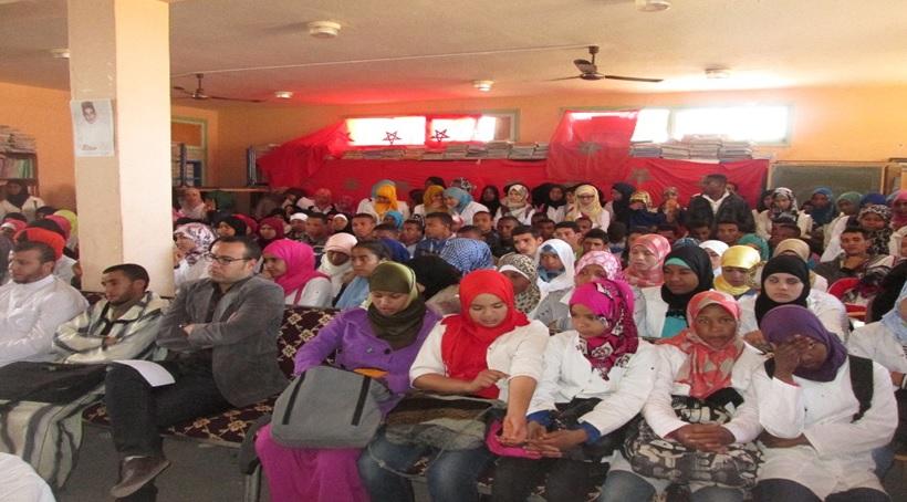 احتفال ثانوية سيدي صالح التأهيلية باليوم العالمي للمرأة --1