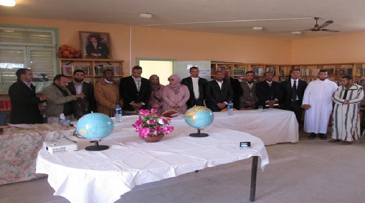 احتفال ثانوية سيدي صالح التأهيلية باليوم العالمي للمرأة --4