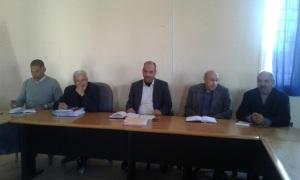 السيد المدير الإقليمي لوزارة التربية الوطنية بزاكورة في أولى لقاءاته