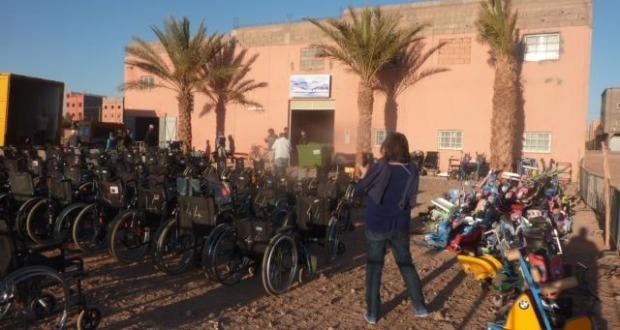حصيلة اليوم الخامس والحصيلة النهائية للقافلة الطبية الموجهة للأشخاص في وضعية إعاقة حركية بإقليم زاكورة