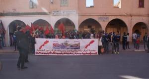 """إقليم زاكورة يعلن انخراطه في مسيرة الرباط ضد """"بان كي مون"""""""