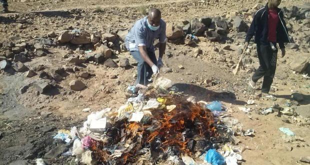 تغبالت: التنسيق الجمعوي ينظم حملة نظافة بدوار تلاكلو