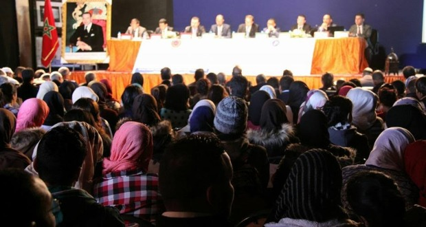 قضاة وأساتذة وخبراء يناقشون موقع الجريمة الإلكترونية في التشريع المغربي بمدينـة ورزازات