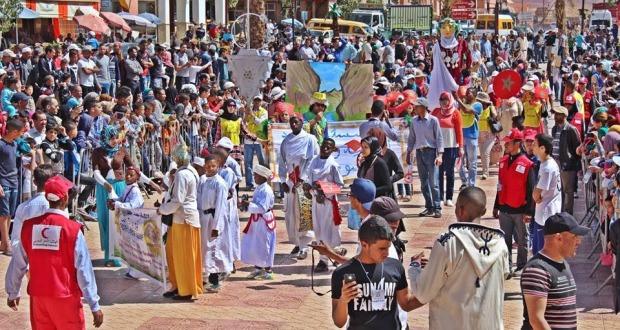 فعاليات شبابية تصنع الحدث بأول كرنفال تاريخي بمدينة تنغير