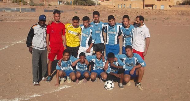 دوري كرة القدم لجمعية حي الثمور بزاكورة