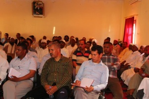 جماعة تمكروت تنظم لقاءا تواصلي حول برنامج عمل الجماعة PAC-3