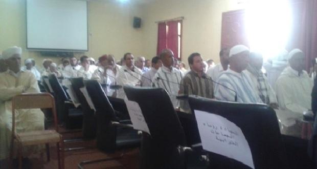 حفل تنصيب قائد جديد بقيادة تمزموط – عمالة زاكورة-1