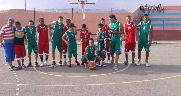 أشبال نادي درعة بزاكورة لكرة السلة يصل نهائي بطولة عصبة درعة تافيلالت