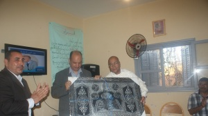 """يوم الوفاء لأهل العطاء """"حفل تكريم مدير مدرسة مجموعة اسرير""""الحسين أشبرو"""""""