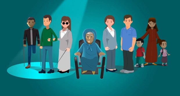 خدمات صندوق دعم التماسك الاجتماعي لفائدة الأشخاص في وضعية إعاقة