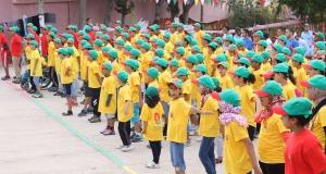 """تنظم جمعية كشافة المغرب فرع زاكورة المخيم الصيفي """"ها فين غادي يكون""""!!!"""