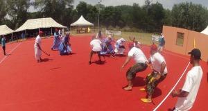 فريق رحل امحاميد الغزلان للمكحاش يفوز بالذهب في المهرجان العربي للالعاب  و الرياضات التقليدية بافران