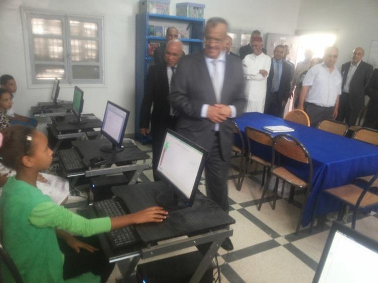 الانطلاقة الرسمية للدخول المدرسي - زاكورة -3