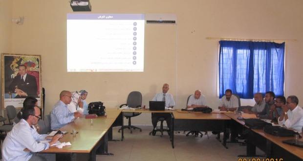 لقاءات تواصلية بالمديرية الإقليمية زاكورة-1