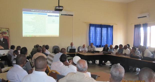 لقاءات تواصلية بالمديرية الإقليمية زاكورة-2