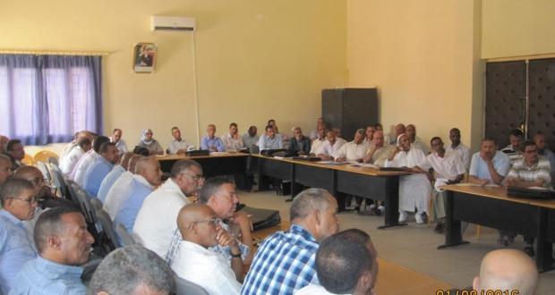 لقاءات تواصلية بالمديرية الإقليمية زاكورة-3