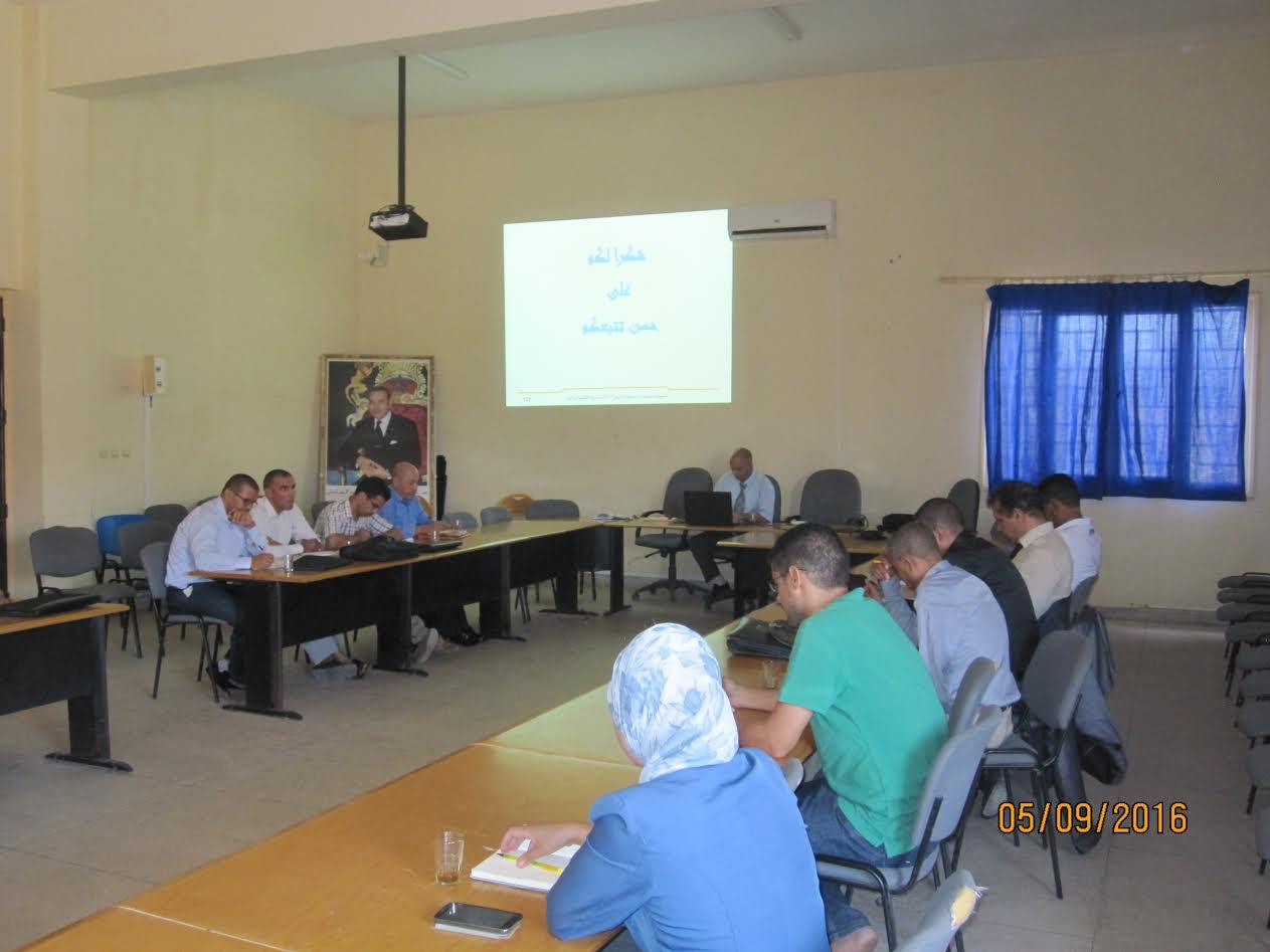 لقاءات تواصلية بالمديرية الإقليمية زاكورة