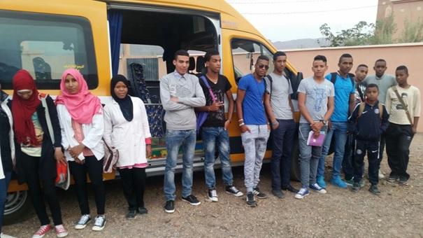 اجتماع تنسيقي بين جمعية النقل و دار الطالبة تانسيخت-2