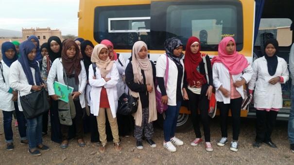 اجتماع تنسيقي بين جمعية النقل و دار الطالبة تانسيخت