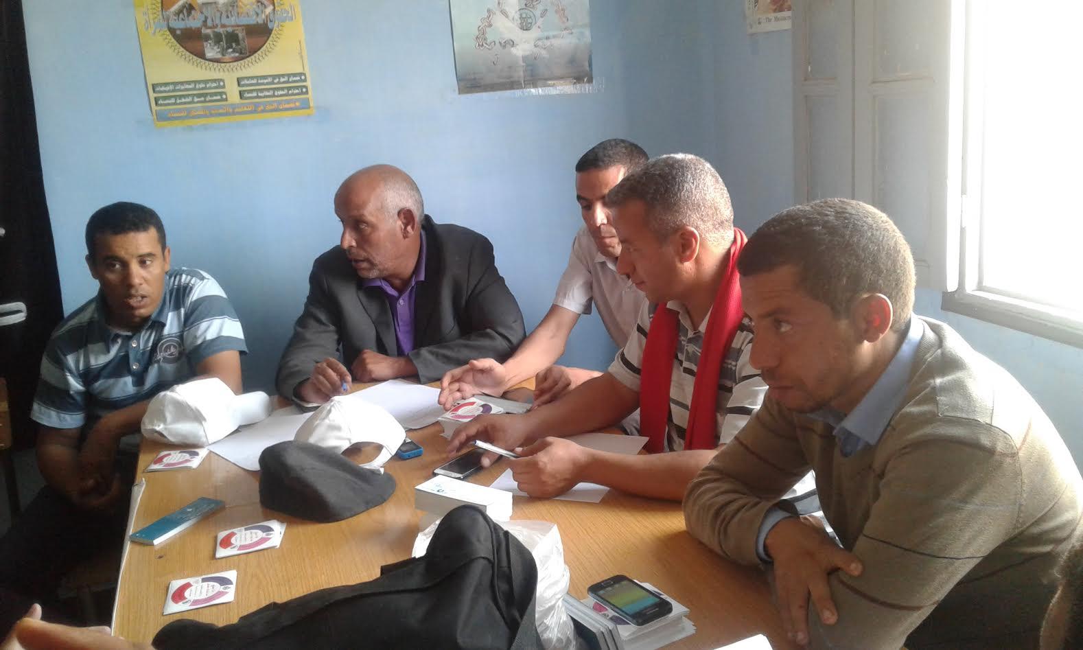 بيان المكتب الجهوي درعة تافيلالت ل FNE بعد الوقفة أمام الاكاديمية الجهوية بالراشيدية 16 أكتوبر 2016-1