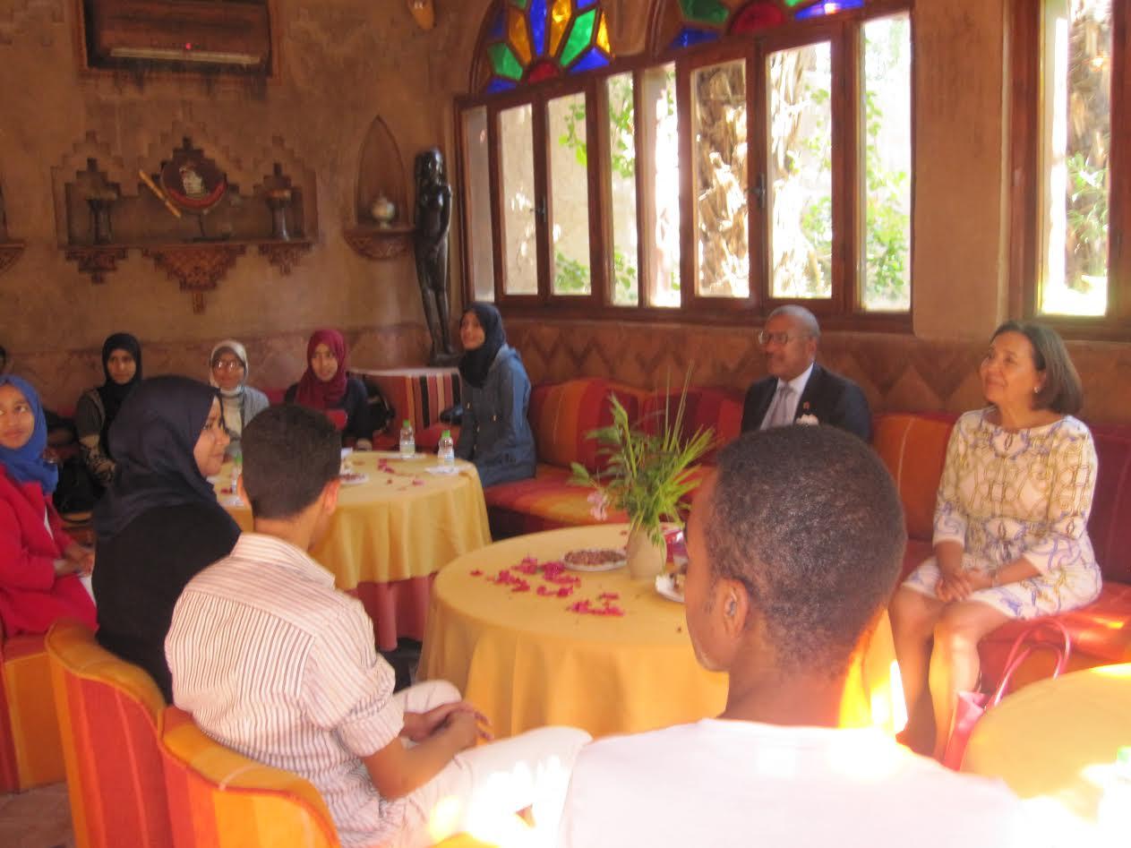 سفير الولايات المتحدة الأمريكية في لقاء تواصلي-4