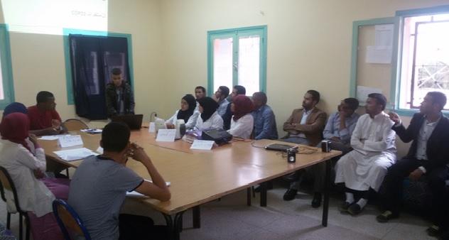 المنجزة بثانوية عثمان بن عفان في اطار استضافة بلادنا COP22-3