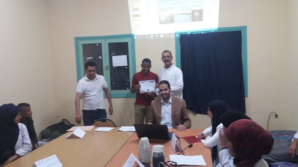 المنجزة بثانوية عثمان بن عفان في اطار استضافة بلادنا COP22-4