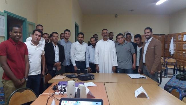 المنجزة بثانوية عثمان بن عفان في اطار استضافة بلادنا COP22-5