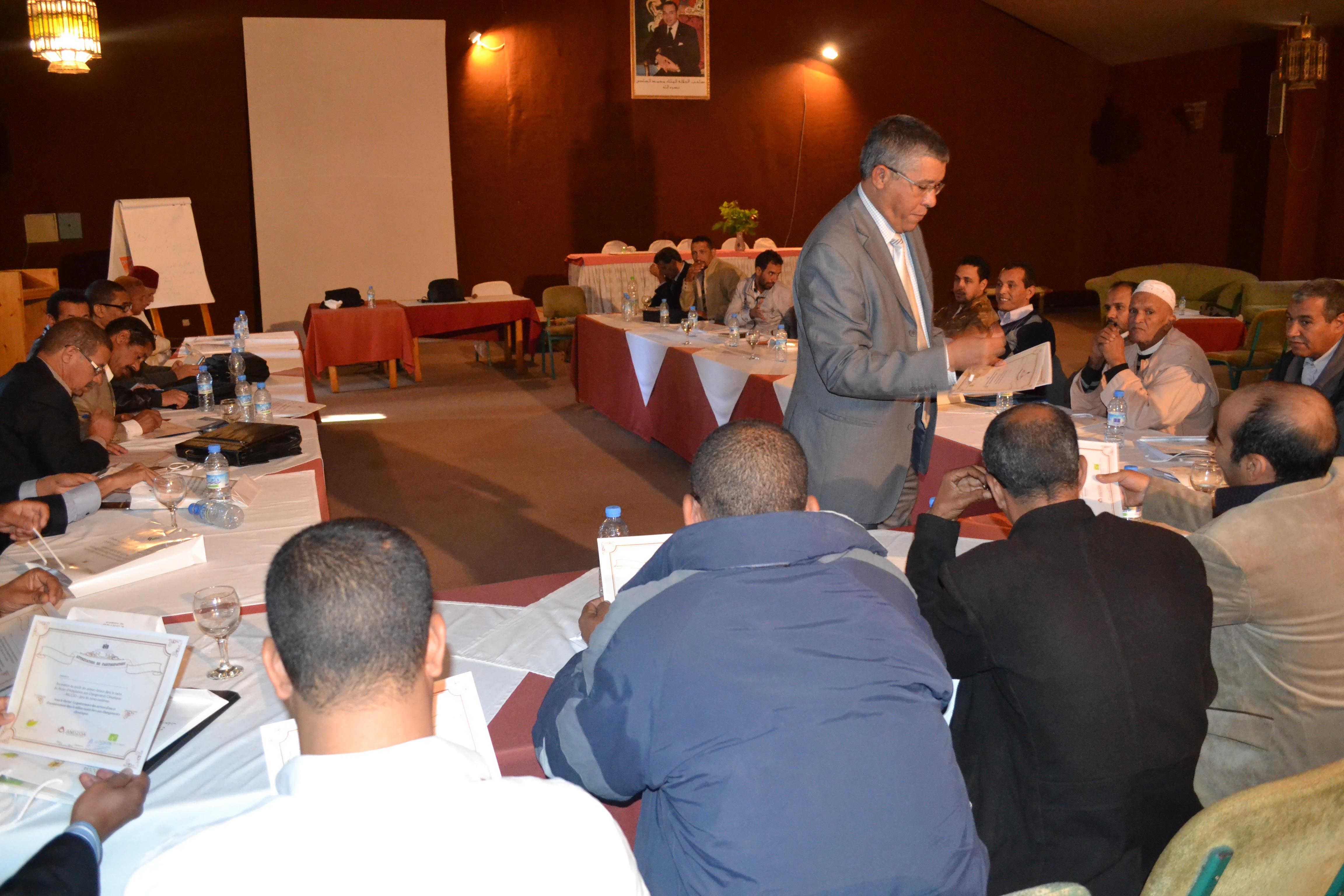 الوكالة الوطنية لتنمية مناطق الواحات وشجر الاركان تتفاعل مع كوب 22-1
