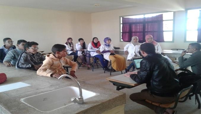 ثانوية الإمام الشافعي الإعدادية بتمكروت زاكورة