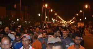 """زاكورة: تنظيم مسيرة إحتجاجية تنديدا بمقتل """"محسن فكري"""" بالحسيمة"""