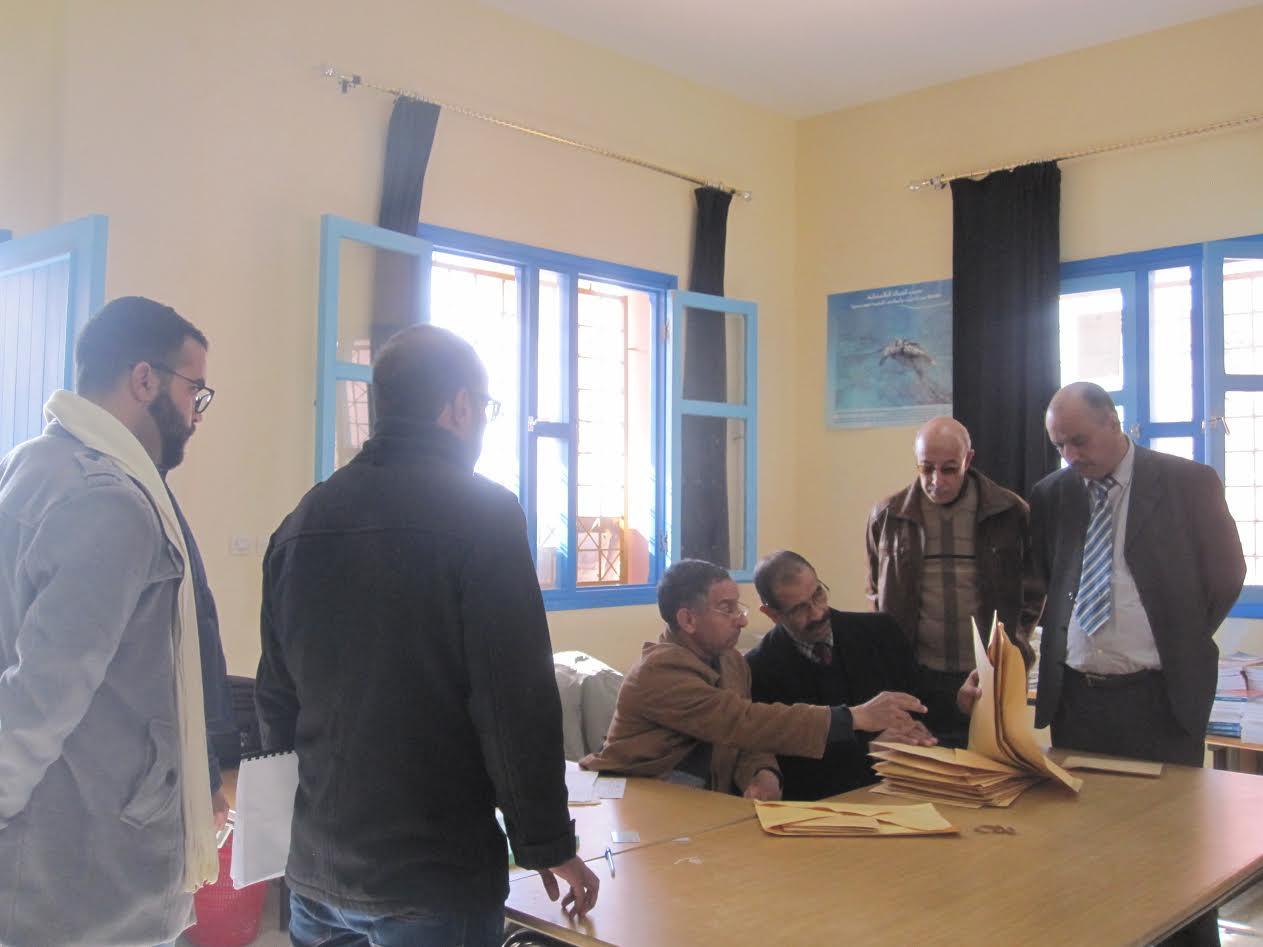 الاختبارات العملية والشفوية الخاصة بمباراة توظيف الاساتذة بالمديرية الإقليمية لوزارة التربية الوطنية بزاكورة