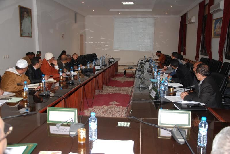 لقاء تواصلي لعامل إقليم زاكورة-1