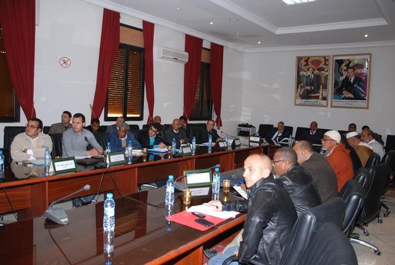 لقاء تواصلي لعامل إقليم زاكورة